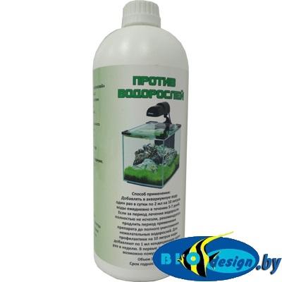 Средство против водорослей Медоса, дезинфицирующее, 1000 мл