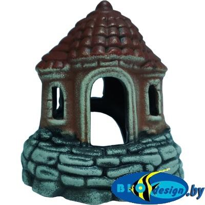 аквариумные декорации в Минске: Замок-шатёр К-05