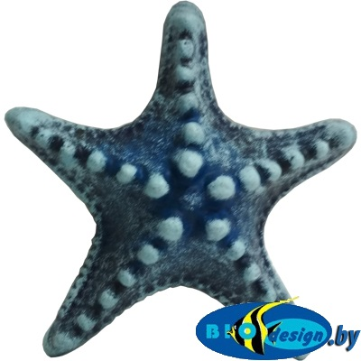Звезда малая (синий) К-01с