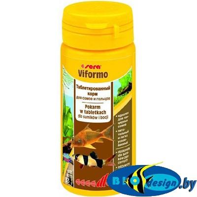 Корм для рыб Sera Viformo, таблетированный, 130 таблеток