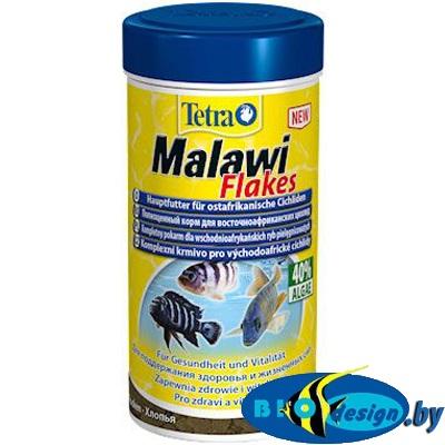 Корм Tetra Malawi flakes 100 мл