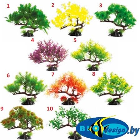 Пластиковое растение Plant Бонсай 13 см (ассорти)