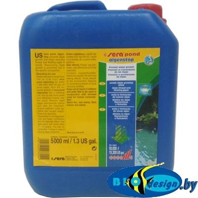 SERA pond algenstop 5 л - Средство против плавающих и нитчатых водорослей в прудах