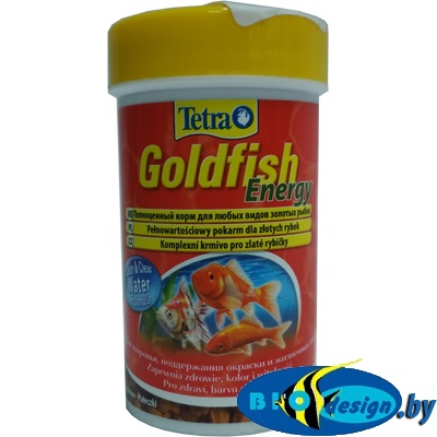 Tetra Goldfish Energy 100 мл - корм для золотых рыбок (палочки)