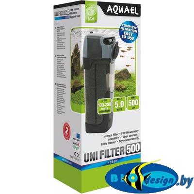 Фильтр внутренний Aquael UNI FILTER 500