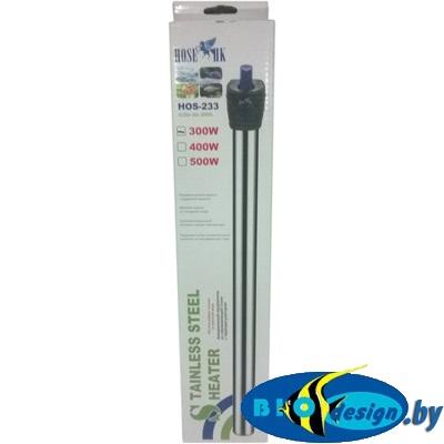 Нагреватель с терморегулятором HOS-233 (нержавеющая сталь 300 W)