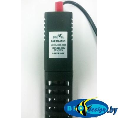 Нагреватель премиум класса с терморегулятором и LED индикацией HOS-806S 100W (кварцевое стекло)