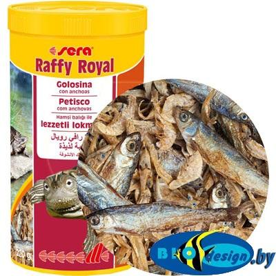 Sera Raffy Royal 1000ml/220g сублимированные рыбки