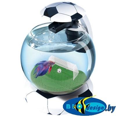 Tetra Аквариум Cascade Globe Football 6,8л круглый с LED светильником