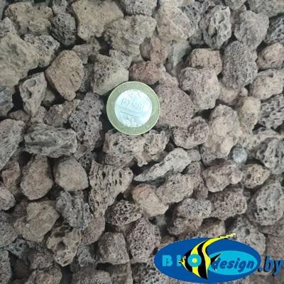 Вулканическая лава крошка 10-20 мм