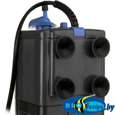 Dophin F-2000 (KW) Внутр.фильтр,16 вт, 800 л/ч с регулятором и углем