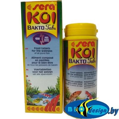 Препарат для лечения рыб Sera Bakto Tabs Koi 500 мл (340 г)