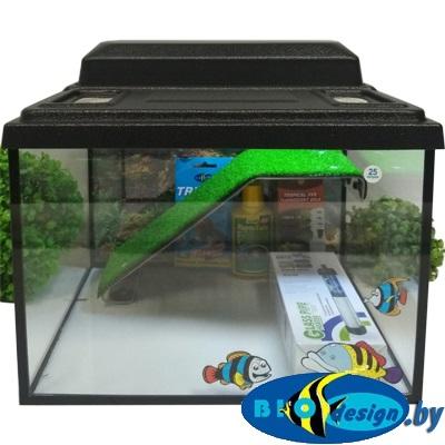 Террариум-престиж 25 для красноухих черепах (комплект с УФ лампой)
