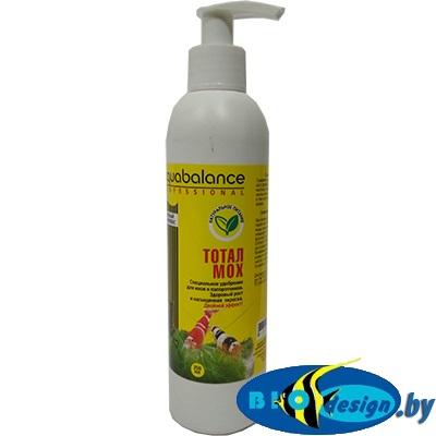 Aquabalance Тотал - Мох 250 мл - специальное удобрение для мхов, папоротников и аквариумов с креветками