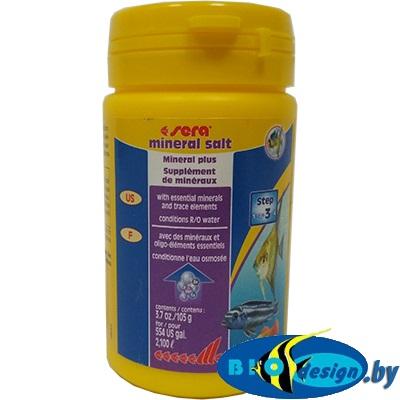 Корм для рыб Sera mineral salt 100 мл (105 г)