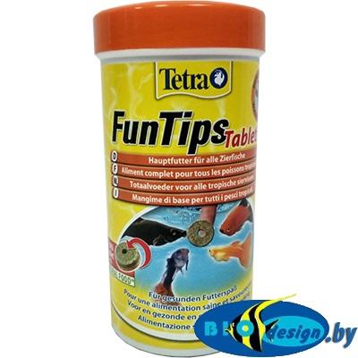 Корм для всех рыб, приклеивается к стеклу аквариума Tetra Tips (таблетки) 300 шт.
