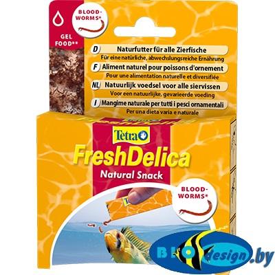 Лакомство для декоративных рыбок Tetra FreshDelica Bloodworms