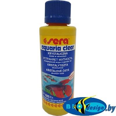Sera AQUARIA CLEAR - средство для очистки воды от всех видов мути 250 мл на 1000 литров