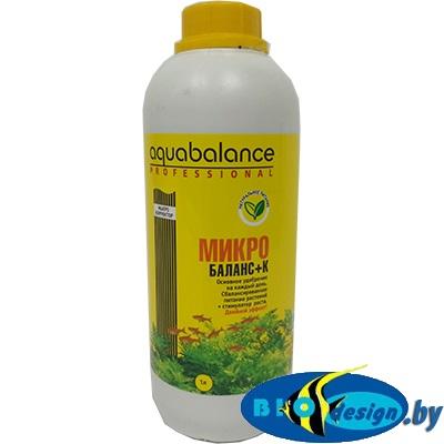 Удобрение для растений Aquabalance Микро-баланс+К 1 л