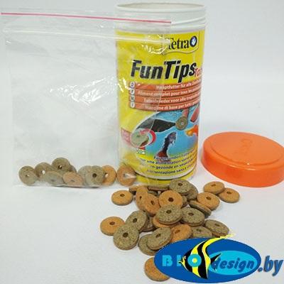 Корм для всех рыб, приклеивается к стеклу аквариума Tetra Tips (таблетки на развес 10 шт.)