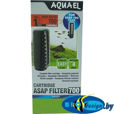 Сменный картридж Aquael ASAP 700 c губкой и углем