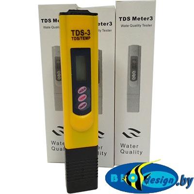 Солемер TDS-3 Метр (измеряем жесткость воды из различных источников, в том числе природных)