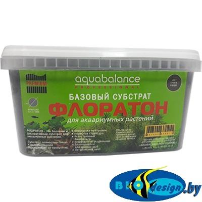Базовый субстрат ФЛОРАТОН 3,3 л AQUABALANCE PROFESSIONAL PREMIUM на аквариум 20-40 литров