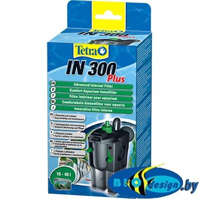 Фильтр для аквариума Tetra IN 300 plus 150-300 л/ч (10-40 литров)