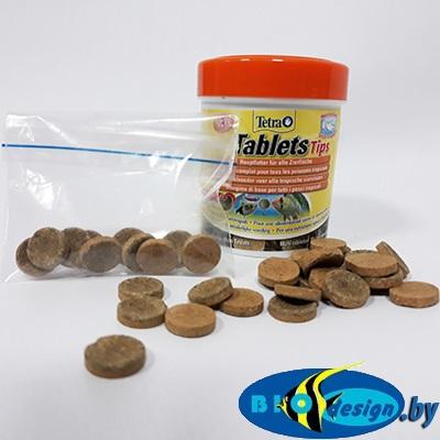 Tetra Tips, корм-лакомство для всех видов рыб (таблетки на развес 10 шт.)