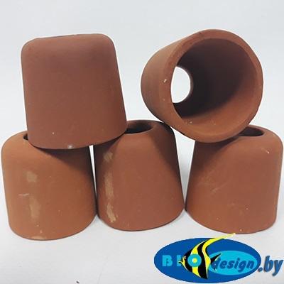 Трубка для креветок (коричневый) К-33к