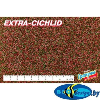 Корм для мелких цихлид Биодизайн Экстра Цихлид (расфасовка) 1 литр