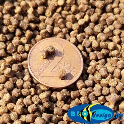 Корм для осетровых прудовых рыб Le Gouessant Sturgeon Grower (Франция) №2 (2 мм) развес 1 кг