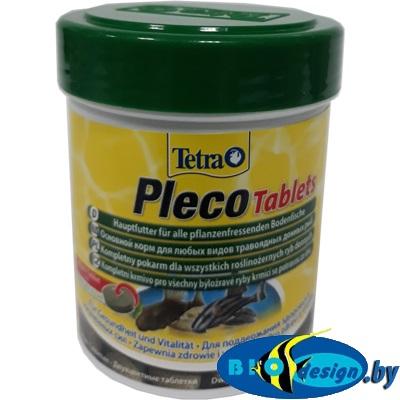 TETRA Pleco Tablets 275 табл. 150 мл/85 г (Корм для сомиков со спирулиной)