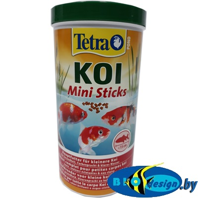 Tetra Pond Koi Mini Sticks 1000 мл 370 г