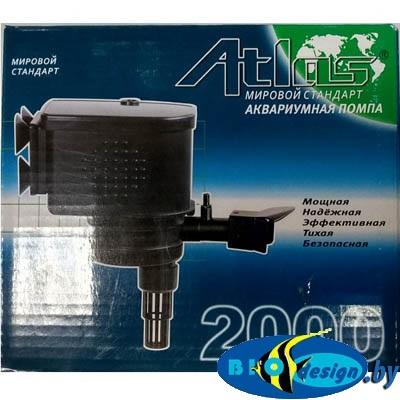 Помпа для фильтрации воды в аквариуме Atlas AT-2000