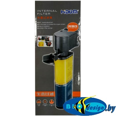 Внутренний фильтр для аквариума Hidom AP-1350F